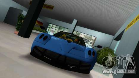 Pagani Huayra 2012 for GTA Vice City