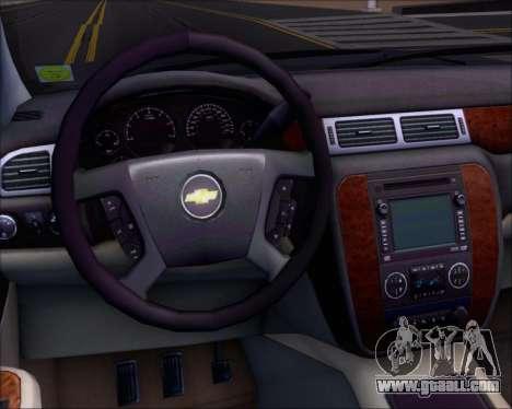 Chevrolet Silverado 2011 for GTA San Andreas bottom view