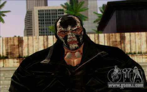 Bane from Batman: Arkham Origins for GTA San Andreas third screenshot
