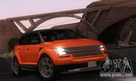 Vapid Radius 1.0 (IVF) for GTA San Andreas