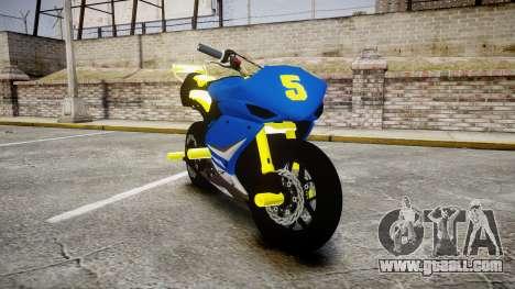 Yamaha R1 2007 Stunt for GTA 4