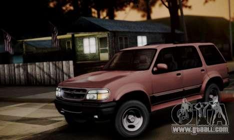 Ford Explorer 1996 for GTA San Andreas