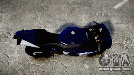Yamaha YZF-R1 2009 for GTA 4 right view