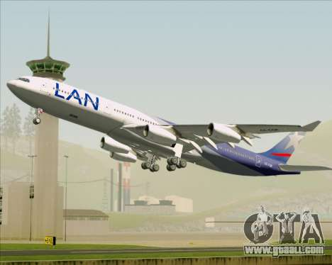 Airbus A340-313 LAN Airlines for GTA San Andreas interior