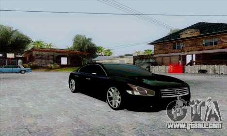 Nissan Maxima for GTA San Andreas left view
