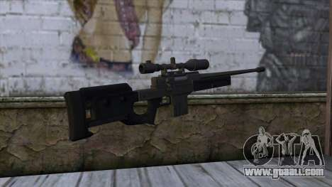 GTA 5 Sniper Rifle for GTA San Andreas second screenshot