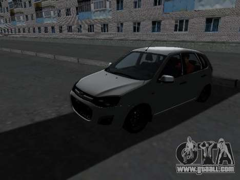 Lada Kalina 2 for GTA San Andreas left view