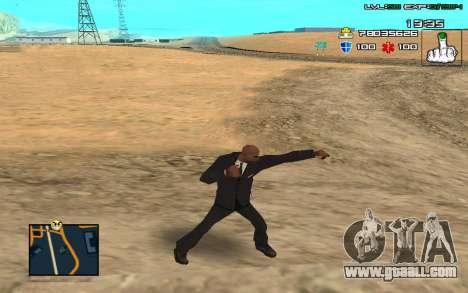 C-HUD by SampHack v.11 for GTA San Andreas second screenshot