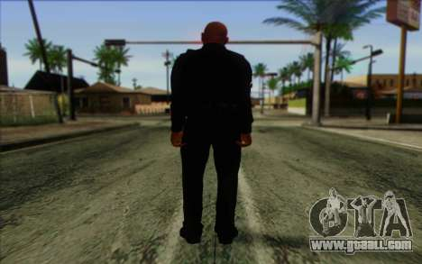 Police (GTA 5) Skin 3 for GTA San Andreas second screenshot