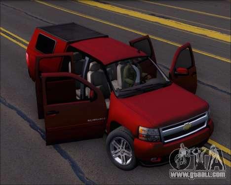 Chevrolet Silverado 2011 for GTA San Andreas side view