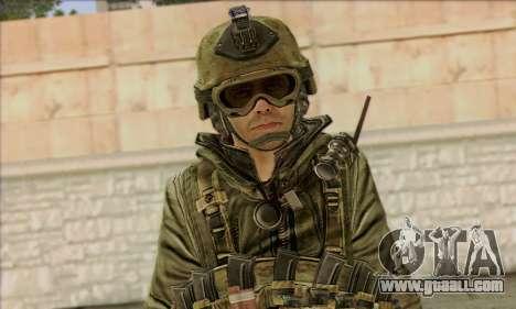 Task Force 141 (CoD: MW 2) Skin 11 for GTA San Andreas third screenshot