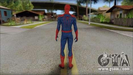 Standart Spider Man for GTA San Andreas second screenshot