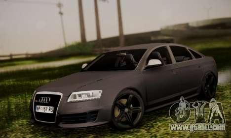 Audi RS6 for GTA San Andreas
