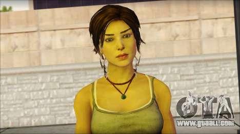 Tomb Raider Skin 11 2013 for GTA San Andreas third screenshot