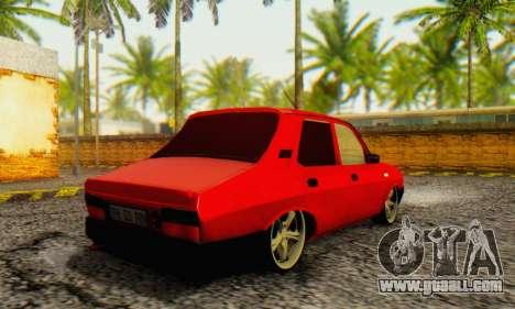 Dacia 1310 TLX PRN v2 for GTA San Andreas back left view