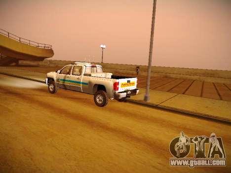 Chevrolet Silverado 2500HD Public Works Truck for GTA San Andreas side view