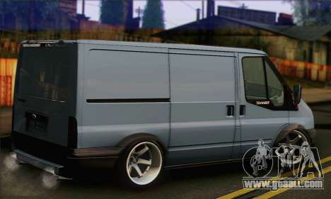 Ford Transit Limited Edition for GTA San Andreas left view