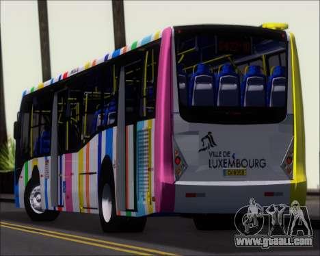 Caio Millennium II Volksbus 17-240 for GTA San Andreas upper view