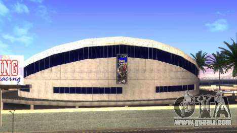 HD textures stadium in Las Venturas for GTA San Andreas second screenshot