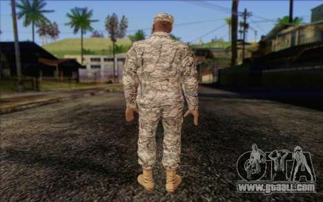 California National Guard Skin 4 for GTA San Andreas second screenshot