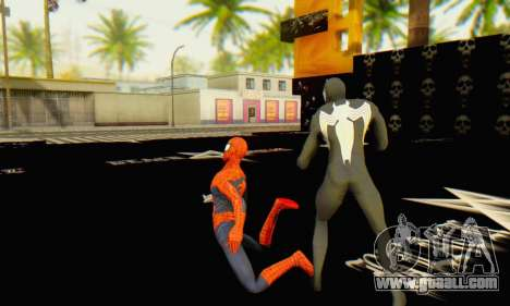Skin The Amazing Spider Man 2 - Molecula Estable for GTA San Andreas fifth screenshot