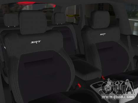 Jeep Grand Cherokee SRT-8 (WK2) 2012 for GTA Vice City side view