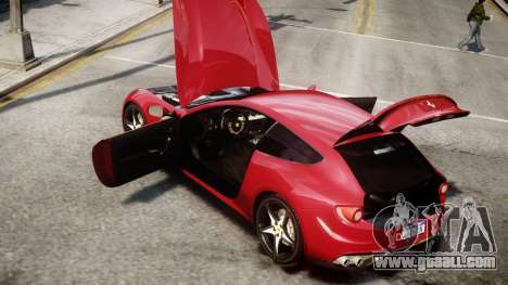 Ferrari FF 2011 v1.5 for GTA 4 right view