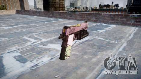 Gun Kimber 1911 Kawaii for GTA 4 second screenshot