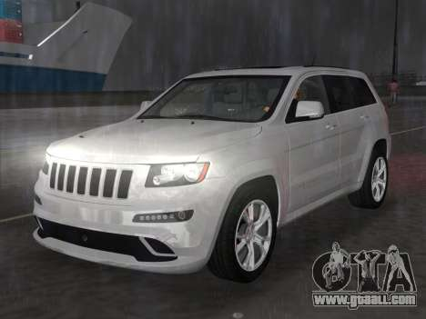 Jeep Grand Cherokee SRT-8 (WK2) 2012 for GTA Vice City back view