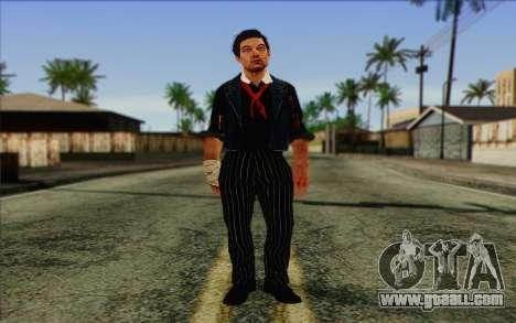 Booker DeWitt Skin for GTA San Andreas