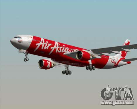 Airbus A330-300 Air Asia X for GTA San Andreas engine