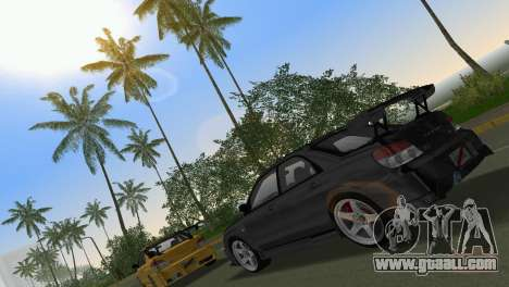 Subaru Impreza WRX STI 2006 Type 3 for GTA Vice City side view