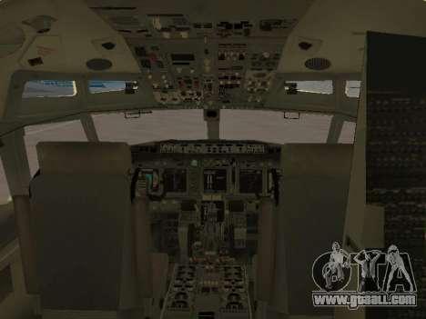 Boeing 737-84R Ukraine International Airlines for GTA San Andreas wheels
