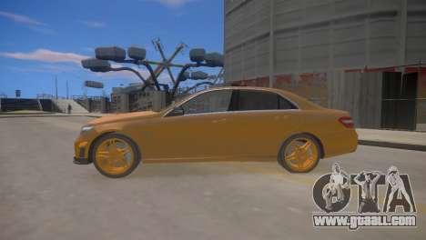Mercedes-Benz E63 AMG для GTA 4 for GTA 4 left view
