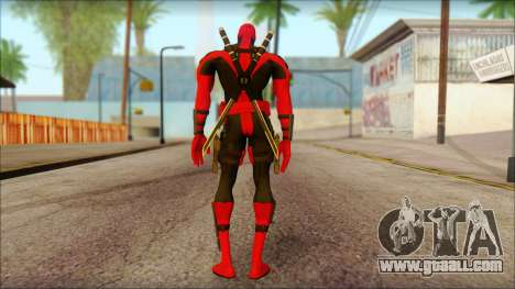 Ultimate Deadpool The Game Cable for GTA San Andreas second screenshot