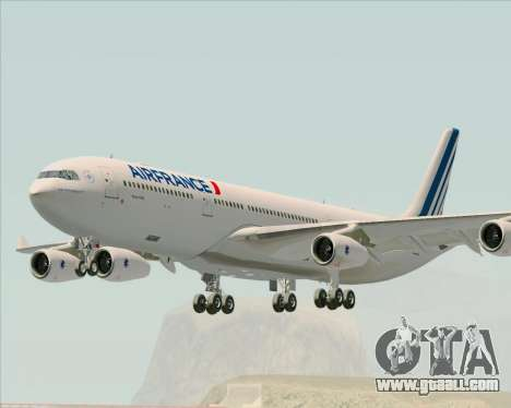 Airbus A340-313 Air France (New Livery) for GTA San Andreas