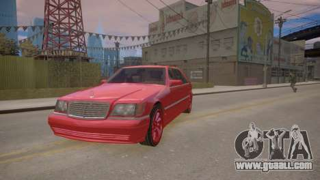 Mercedes-Benz S600 W140 for GTA 4