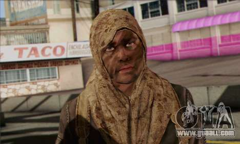 Task Force 141 (CoD: MW 2) Skin 18 for GTA San Andreas third screenshot