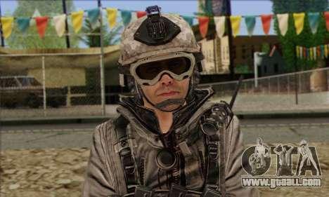 Task Force 141 (CoD: MW 2) Skin 5 for GTA San Andreas third screenshot