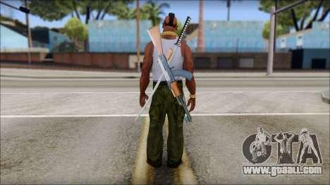 MR T Skin v10 for GTA San Andreas second screenshot