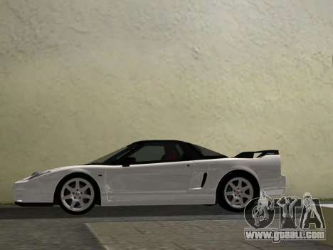 Honda NSX-R for GTA Vice City inner view