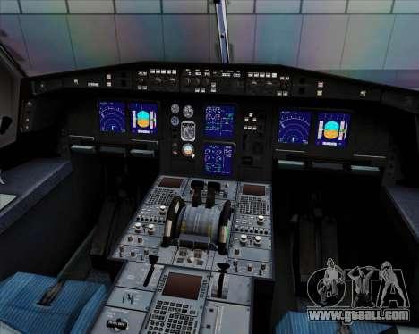 Airbus A330-300 Cebu Pacific Air for GTA San Andreas interior