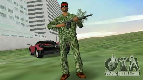 Camo Skin 04 for GTA Vice City second screenshot