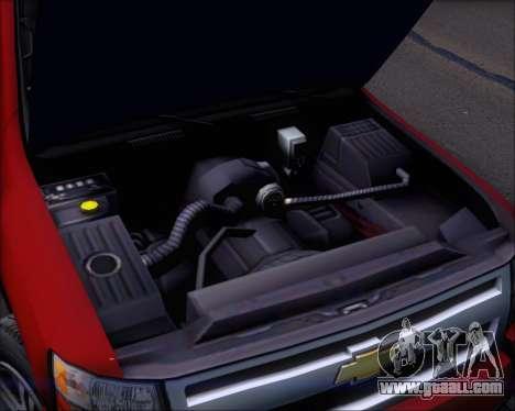 Chevrolet Silverado 2011 for GTA San Andreas upper view