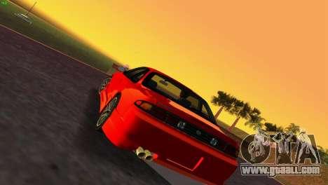 Nissan Silvia S14 RB26DETT Black Revel for GTA Vice City left view