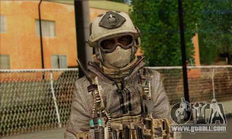 Task Force 141 (CoD: MW 2) Skin 13 for GTA San Andreas third screenshot