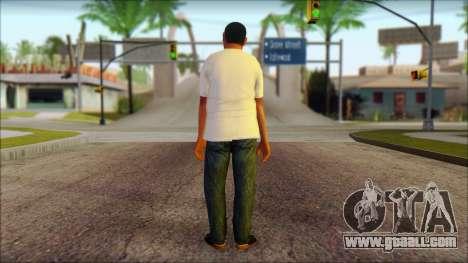 GTA 5 Ped 18 for GTA San Andreas second screenshot