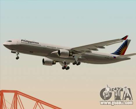 Airbus A330-300 Philippine Airlines for GTA San Andreas engine
