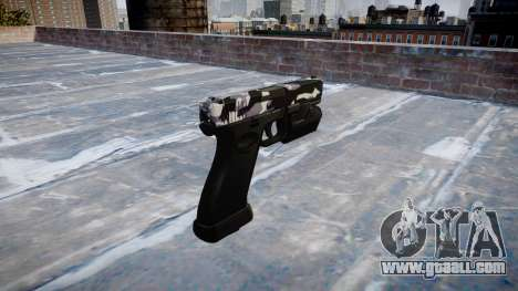 Pistol Glock 20 siberia for GTA 4 second screenshot