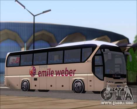 Neoplan Tourliner Emile Weber for GTA San Andreas left view